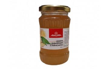 lemon ginger jam 200g Akura