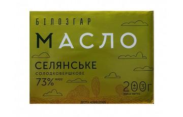 packaged butter 73% 200g Belozgar