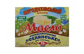 packaged butter 73% 200g Bogoduhov
