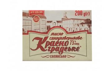 масло фасованное 73% 200г Красноград