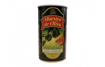 olives with shrimp 300g Maestro de Oliva
