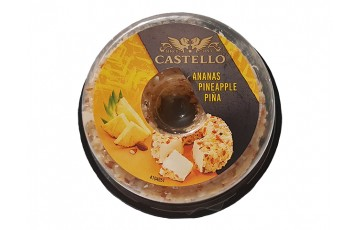 cheese packed with pineapple 125 g Castello