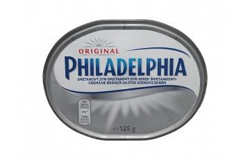 packaged cheese 125g Philadelphia