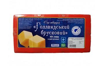 сыр голландский ГОСТ 5 кг Молочный Визит