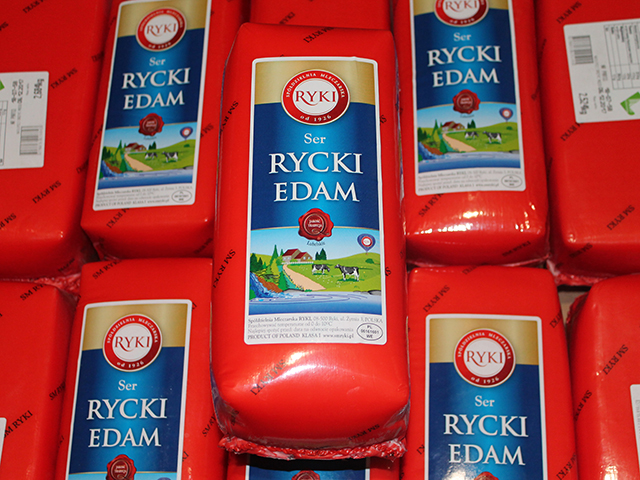 Edam cheese Riky 2.5 kg